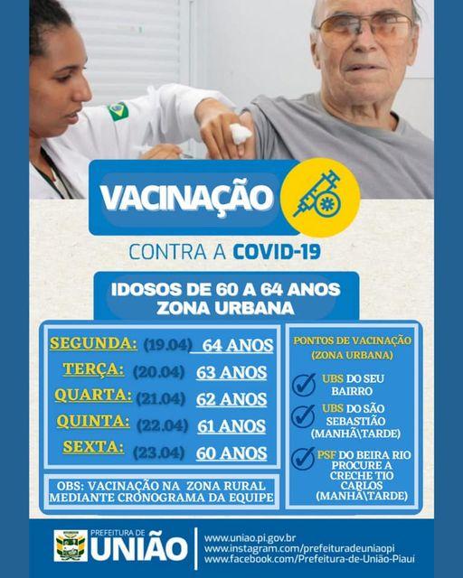 VACINAÇÃO CONTRA COVID